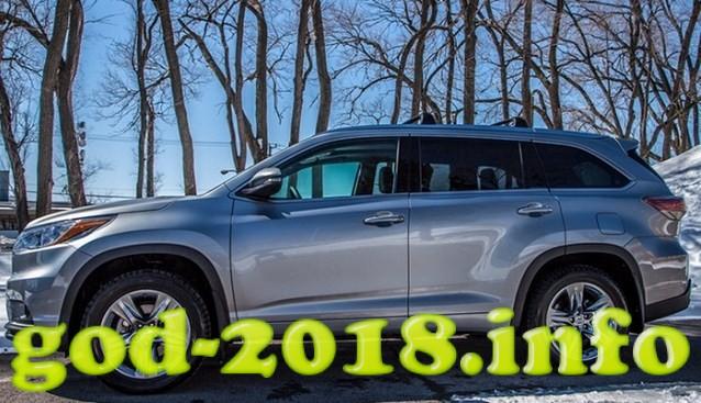 Toyota Highlander 2018 foto (9)