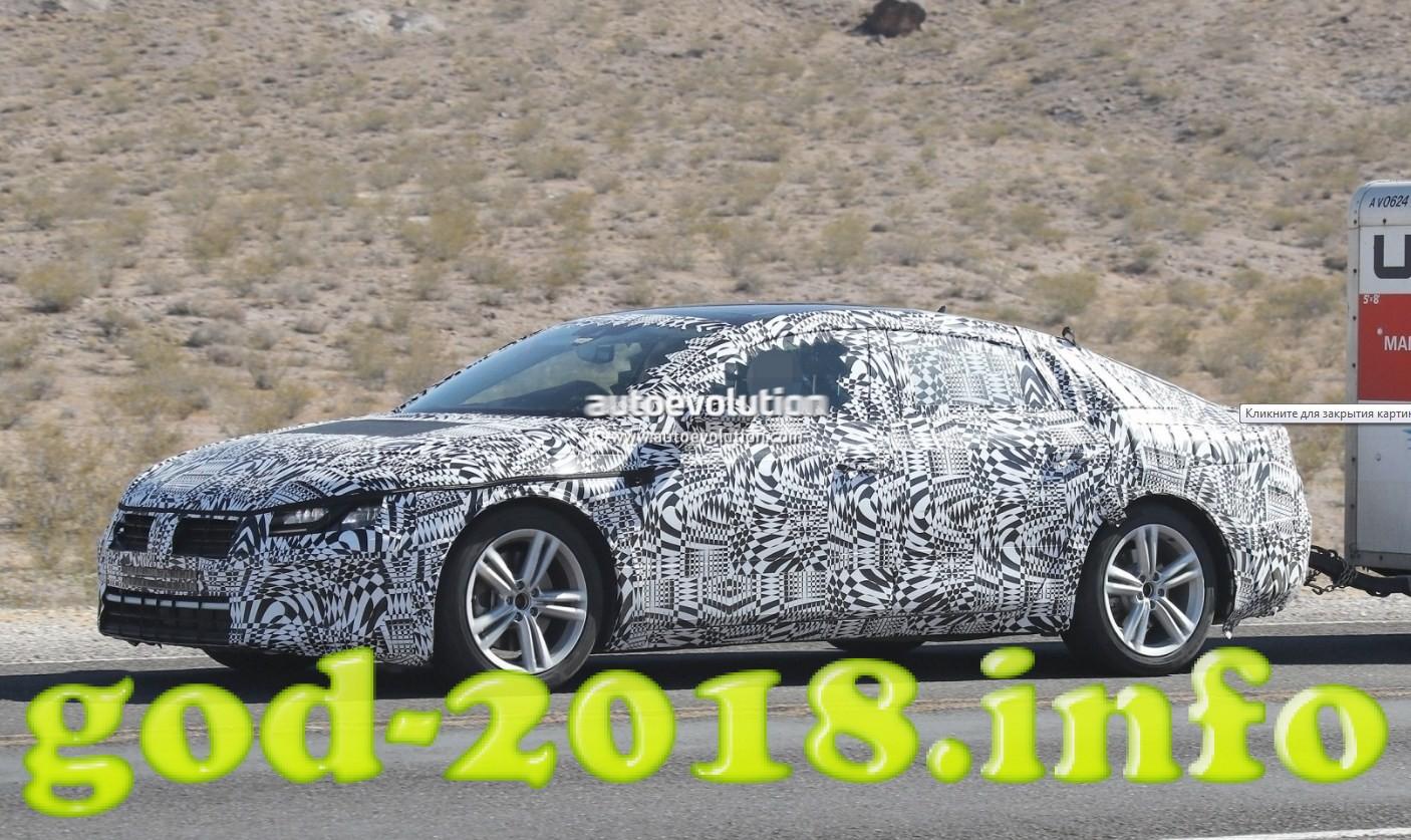 Volkswagen Passat 2018 foto (2)