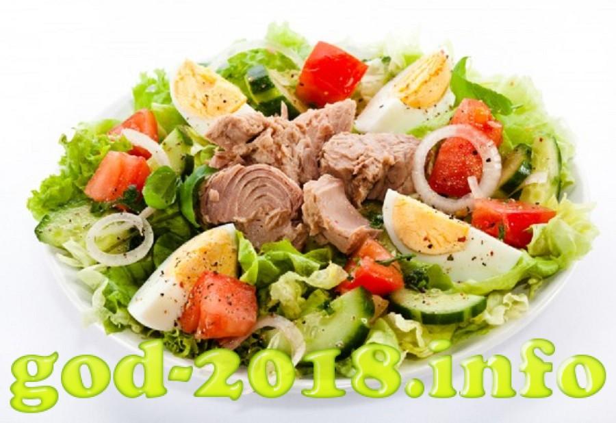 Lutshie salaty na novyj god 2018