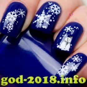 modnyj-manikjur-na-novyj-god-2018-sobaki-novinki-foto-3