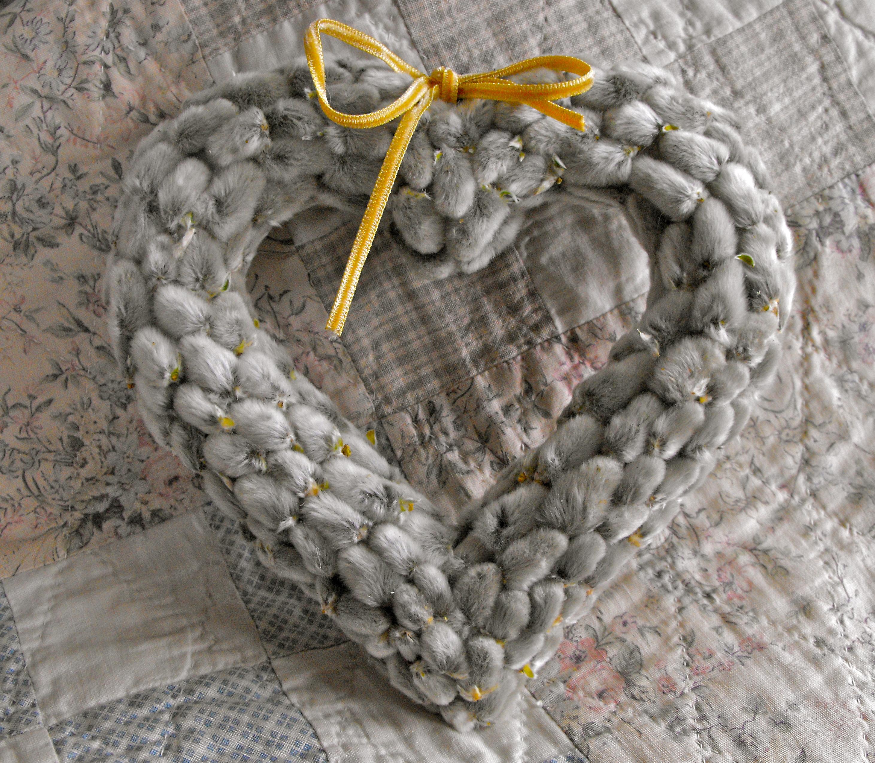 Сердце из вербы